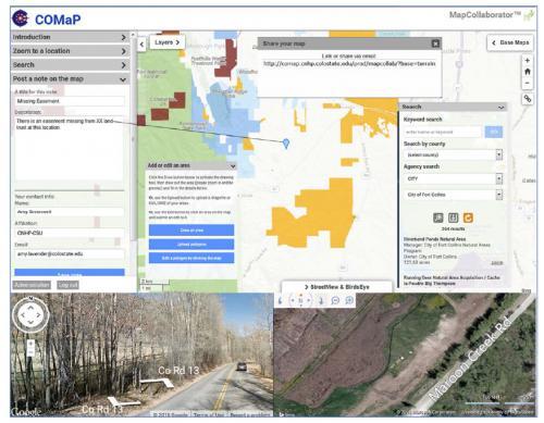 The CSU COMaP MapCollaborator