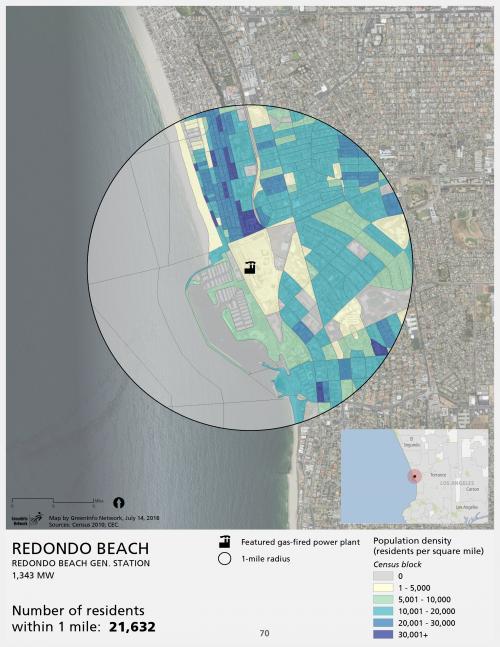 Redondo Beach population density