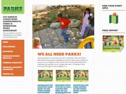 We All Need Parks Website
