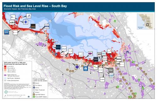 Silicon Valley Sea Level Rise
