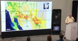 NPS Director Jarvis presenting, desert region case study