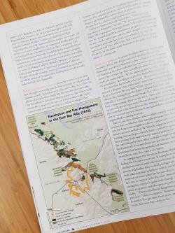 Illustration in Bay Nature magazine