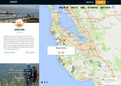 Property detail in POST web map