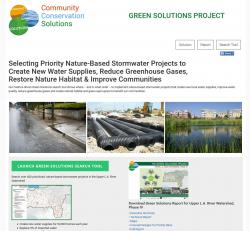 Main Green Solutions Web Page