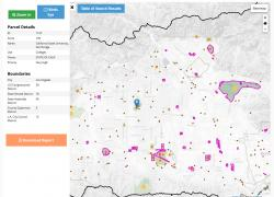 Property Detail element of Green Solutions Mapper