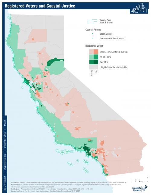 Voter Registration Map