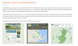 Example of land trust GIS use
