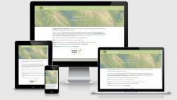 Responsive view of LandTrustGIS.org