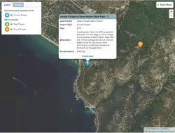 Web map detail view
