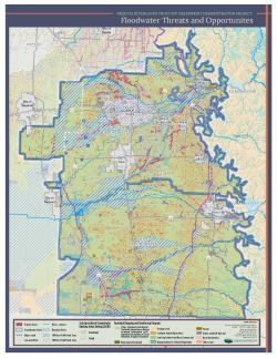 Flood Zones Poster map