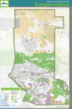 Conservation status map