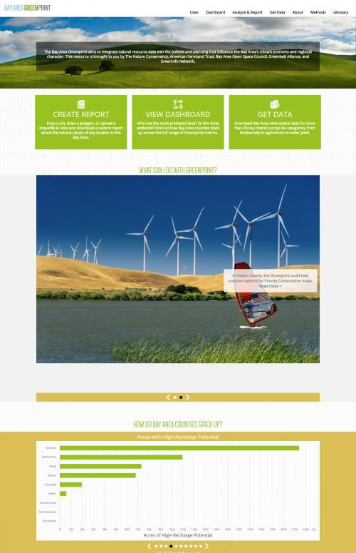 Bay Area Greenprint - Home Page