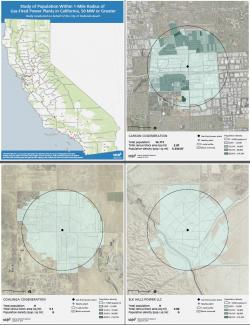 Cover and selected pages from Redondo Beach Energy Plan Atlas