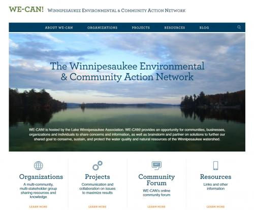 We-Can home page
