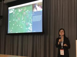 Presenting the work at Google's Geo for Good 2017