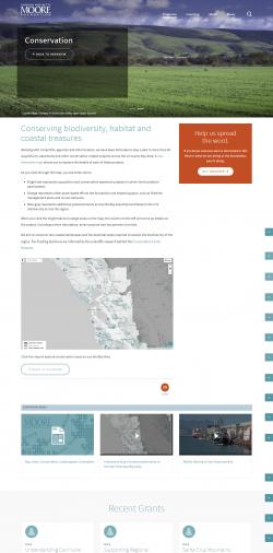 Mapping application launch page